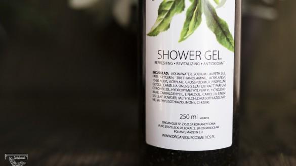 Kosmetyki z herbatą: Skład żelu pod prysznic zielona herbata