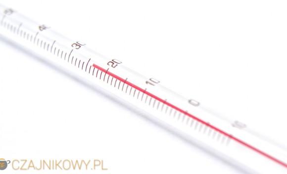 Elegancki termometr do herbaty