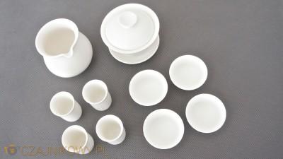Zestaw ceramiki do ceremonii parzenia herbaty