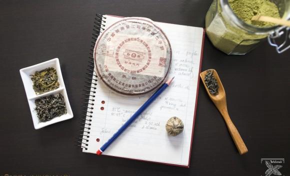Zapisywanie notatek o herbacie: herbaciany dziennik. Czy warto?