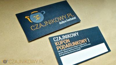 Czajnikowy KUPON podarunkowy 100 PLN